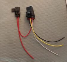 Waterproof relay with attached fuse holder. Hi temp GXL wire water proof