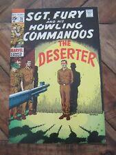Sgt. Fury and his Howling Commandos # 75 Feb 1970 Marvel - The Deserter       KK