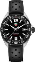TAG HEUER WAZ1110.FT8023 Formula One Black Rubber Strap Men's Wrist Watch