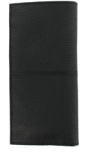 Cole Haan Men's Genuine Leather BlackBi-Fold Breast Pocket Wallet