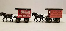 RARE  Lledo Days Gone Tri-Sum Potato Chips L.S.W.R Parcels Ropley Diecast Horse
