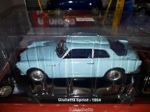 1:24 Alfa Romeo Giulietta Sprint collezione Centenario prodotto ufficiale