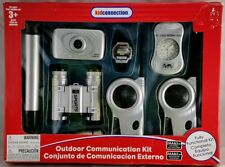 Vntg KidConnection Outdoor Communication Kit Binoculars Spy Camera Telescope HTF