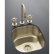 KOHLER Undertone Undercounter Entertainment Sink Satin Bronze Finish K-14300-SBV