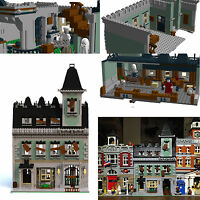 LEGO Modular Haunted House PDF instructions only alternate custom 10228 10230 B