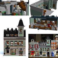 LEGO Modular Haunted House PDF instructions only alternate custom 10228 10230 B