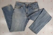 USA Made LEVI's 550 (550-4891) tag:33x33 actual:32x33 nice Vintage Wear+Fade