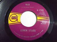 Edwin Starr War / He Who Picks A Rose 45 1970 Gordy Vinyl Record