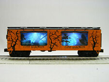 MTH RAIL KING HALLOWEEN OPERATING ACTION CAR O GAUGE witch broom 30-79596 NEW