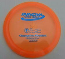 New listing Innova Champion Firebird - Orange w/ Blue HS- 175G - Pearly Flat Run