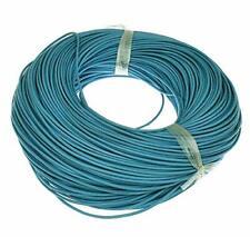 Lederband Blau 2mm Schmuckherstellung Lederschnur Halsketten Anhänger C148