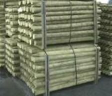 Round Timber Fence Posts & Rails Pointed & Flat FREE DELIVERY 50 MILES OF BOSTON
