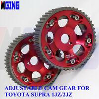 JDM Cam Gear Shaft Sprocket Crank Pulley For Toyota Supra Chaser 1jz 2jz Gte RD