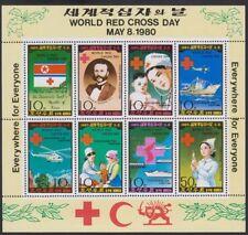 Corée, 1980. Croix Rouge Feuille 1931a Perf-Imperf, Excellent État