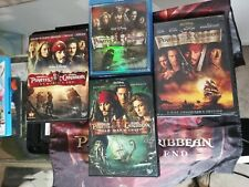 Pirates of the caribbean collection Dvd 3 movies