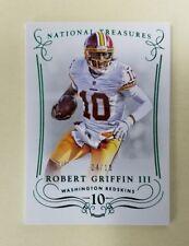 2014 National Treasures Robert Griffin III RG3 Green Card /10
