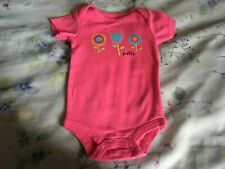 Baby Starters  one piece pink 3 months