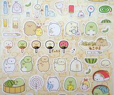 Sumikko Gurashi stickers! Japanese San-X summer fun, ramune, watermelon, fans