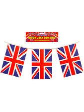 10M Bunting 20 Flag Great Britain Union Jack Gb Football Garland Pub Accessory