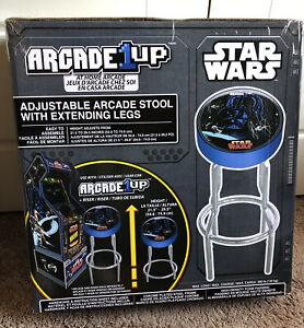Arcade1UP Star Wars Adjustable Arcade Stool w/Chrome Extending Legs - NEW IN BOX