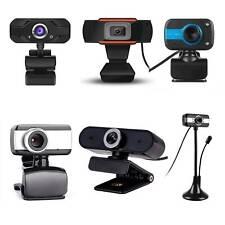 480P 1080P USB Rotatable Webcam PC Laptop Desktop Computer With Microphone
