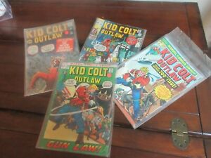 Kid Colt Outlaw #100 Silver Age Atlas PLUS #148 #158 #200 Comic Books