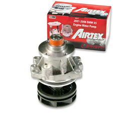 Airtex Engine Water Pump for 2001-2006 BMW X5 3.0L L6 - Auxiliary Engine vy