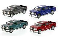 Kinsmart 2014 Chevrolet Silverado LTZ 4x4 Pick Up Truck 1:46 Diecast Car 5 inch