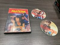 Pulp Fiction DVD Quentin Tarantino 2 Disc COLLECTOR'S EDITION Only English