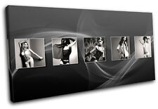Sexy Girls Underwear Fashion SINGLE DOEK WALL ART foto afdrukken