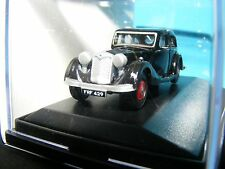 Riley Kestrel in Black with Red interior 1936   1:76 Oxford Diecast New