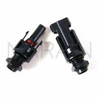 4mm SOLAR PANEL BULKHEAD connectors caravan motorhome camper RV compatible MC4