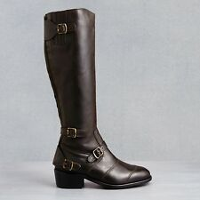 df1c1f6abc9 Belstaff TRIALMASTER Brown Leather Boots Size 40 9 9.5 10