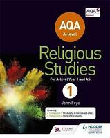 Aqa A-Level Religious Studies Year 1: Including As, Brand New, Free shipping