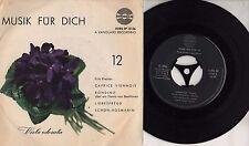 MISCHA ELMAN JOSEPH SEIGER disco EP 45 giri STAMPA AUSTRIACA  Musik fur dich
