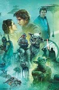 Star Wars: The Empire Strikes Back - Celebration Mural Poster