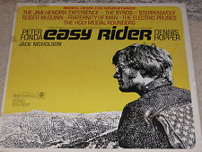 EASY RIDER SOUNDTRACK LP RECORD PETER FONDA HOPPER JIMI HENDRIX BYRDS OOP