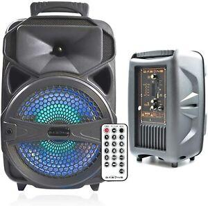 Tragbarer Wireless Bluetooth Lautsprecher Musicbox MP3 RADIO FM-AUX-USB-SD DE
