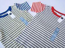 GAP Striped 100% Cotton Short Sleeve Boys' T-Shirts & Tops (2-16 Years)