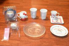 HELLO KITTY TASSEN & TELLER   SET  JAPAN SANRIO ORIGINAL MUGS & PLATES   SELTEN!