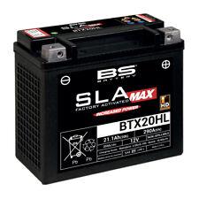 BS-BATTERY SLA MAX BTX20HL 12V 20Ah Batteria Moto per Harley Davidson - Nera