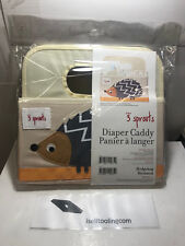 3 Sprouts Hedgehog Diaper Caddy Fabric Basket - NEW!!!