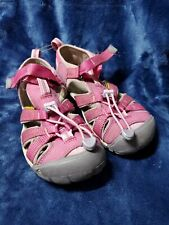 Keen closed toe purple water shoes, unisex kids, size 2 US, great condition