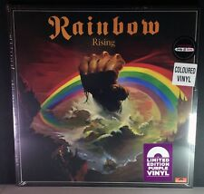 Rainbow - Rising -  LP - Rare Reissue HMV Purple vinyl