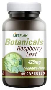 Lifeplan Botaniclas Raspberry Leaf 425mg ( 60 Capsules)