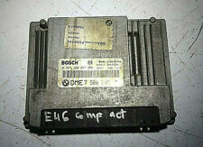 BMW E46 318i COMPACT ENGINE ECU BOSCH 0261209007  DME7508292