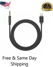 NEW Lightning to 3.5mm AUX Audio Car Music Cable for iPhone 7 8 Plus X XS Max XR