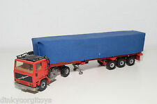 SIKU VOLVO 10 TURBO TRUCK WITH TRAILER EXCELLENT CONDITION
