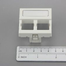 COMMSCOPE SYSTIMAX 760091082  M12FR-262 Unshuttered Faceplate  2 port  White