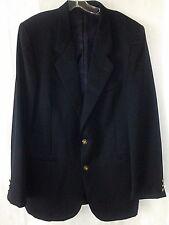 Jean Paul Germaine Mens 42L Navy Blue Jacket Wool Blazer SportCoat Jacket Poland
